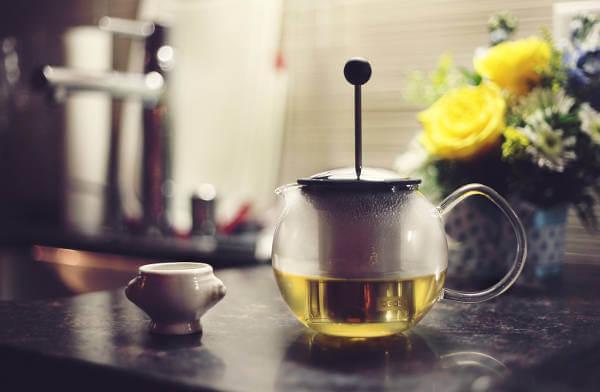 Slow Carb und grüner Tee