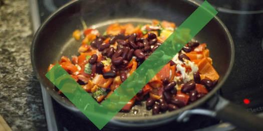 Slow Carb Regel 2 - Iss gleiche Mahlzeiten
