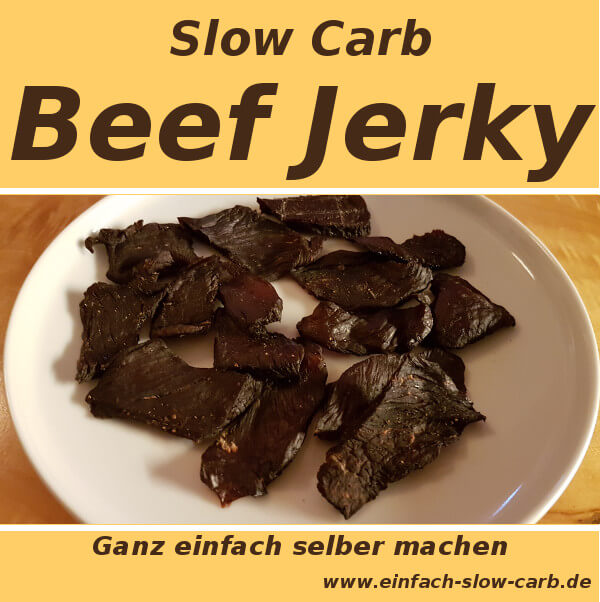 Slow Carb Beef Jerky