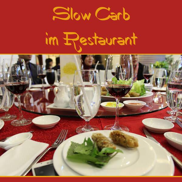 Slow Carb im Restaurant